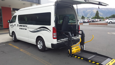 MOBILITY SERVICES - SERVICES | Airport Shuttles Dunedin